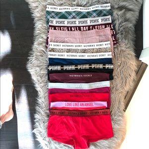 Victoria's Secret 11 Pair Bundle Panties Underwear